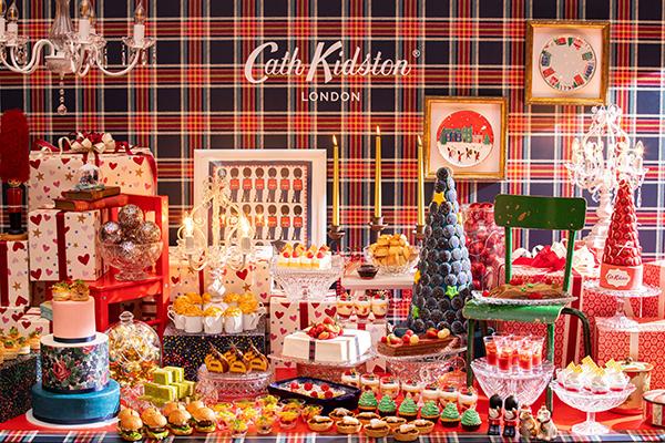 ワクワクするホリデーシーズンにぴったり♡コンラッド東京×キャス キッドソンのスイーツビュッフェが素敵