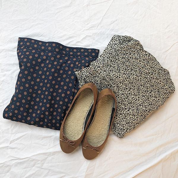 【#今週のGU新作 】柄物スカートはマストバイ!2000円以下で買えちゃうボアバレエシューズも登場です♡