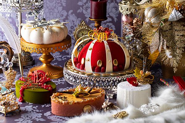 予約受付は11月からスタート!みんなが集まるパーティーに「ヒルトン東京」の煌びやかなクリスマスケーキを♡