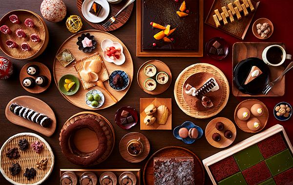 """コンセプトは""""和食材を使ったチョコレートスイーツ専門店""""。リーガロイヤルホテル(大阪)のスイーツビュッフェが素敵"""