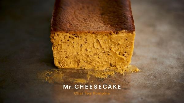 かぼちゃとチャイの濃厚な味わいがお目見え♡「Mr. CHEESECAKE」ハロウィン限定フレーバーが登場