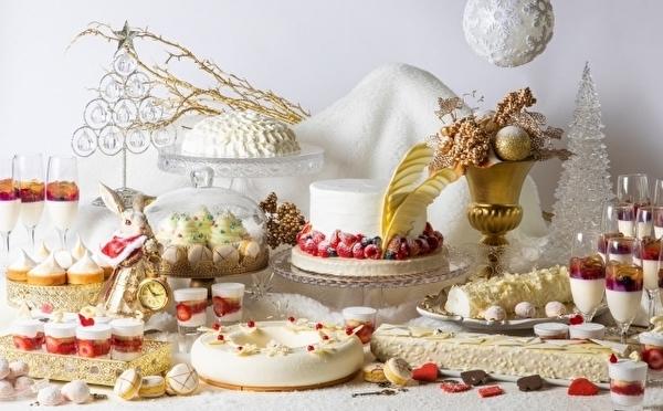 アリスのお茶会×ホワイトクリスマスがロマンティック♡ヒルトン大阪、かわいすぎる冬ビュッフェが11月スタート♩