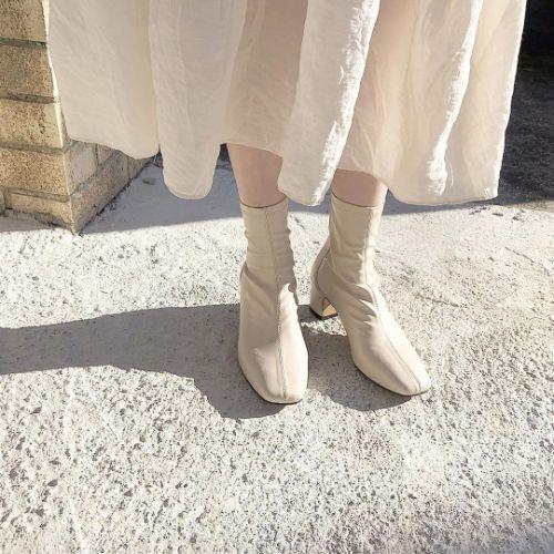 運命のブーツに出会いました…♡絶対に靴擦れしない「スクエアアンクルブーツ」のフィット感は1度履いたら虜です