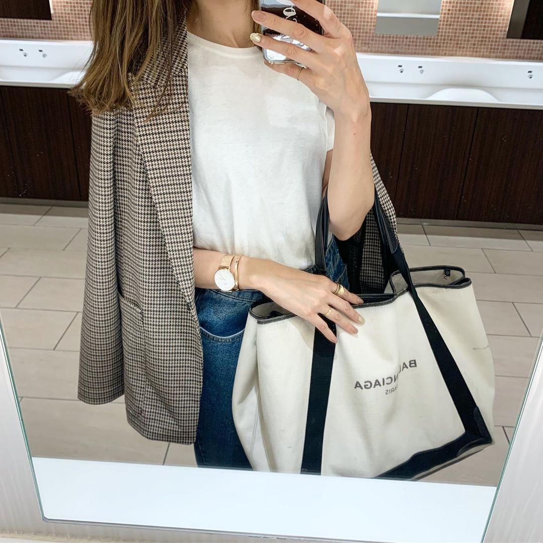 H&Mが「チェックジャケット」の宝庫らしい…?羽織るだけで後ろ姿まで抜かりないかわいさだから要チェック♡