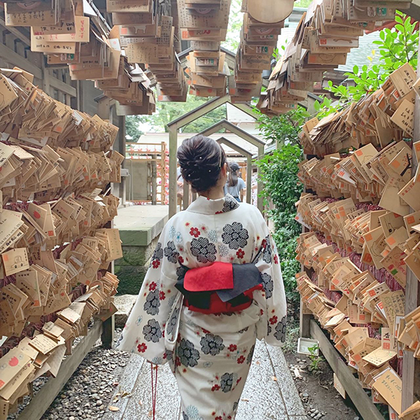 """散歩の季節がきた。""""川越""""を最大限楽しむためには2000円以下のレンタル着物プランが欠かせませんでした♡"""