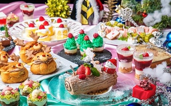 映えすぎビュッフェで休日ランチはいかが♩梅田のアリスレストランでクリスマスのティーパーティーが開催!