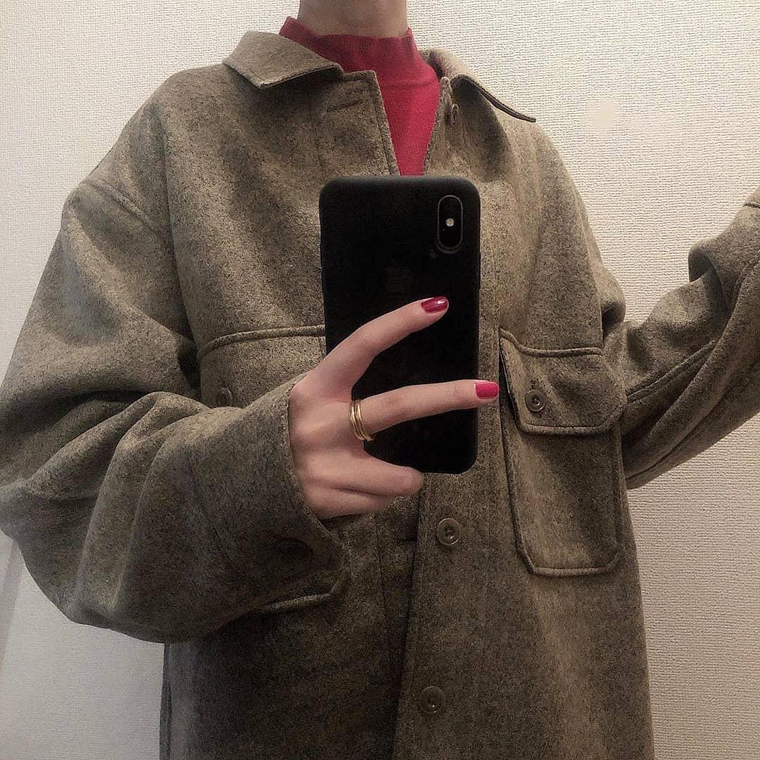 ユニクロで人気のあのフリースがシャツに…?しっかり厚手&ビッグシルエットの「メンズ用」が狙い目でした♡