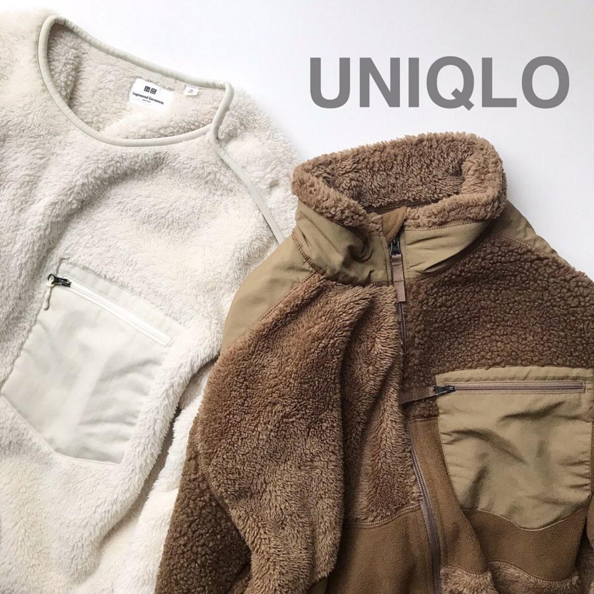 ユニクロ メンズの「フリースコンビネーションジャケット」はGETした?女子が着てもかわいい最強アウターなんです♡