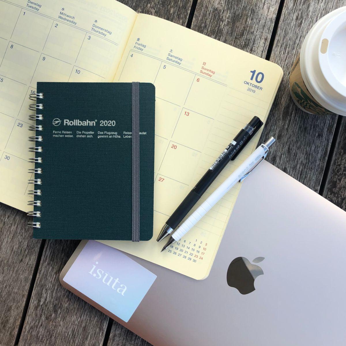 賢さの秘訣はセルフマネジメントにあり。ロルバーンの手帳はデザインも機能性も抜群で手放せないんです♡
