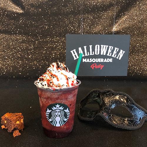 スタバ新作「ハロウィン ダーク ナイト フラペチーノ」が登場♡限定のカップスタンドも見逃せないんです♩