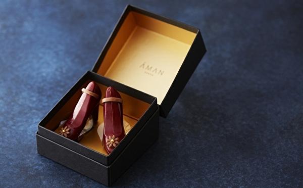 シンデレラの靴のようなショコラがステキ♡アマン東京、2020年バレンタイン&ホワイトデーの大人ギフトをチェック!