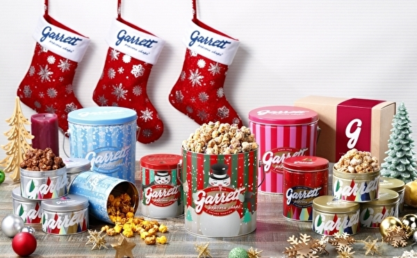 人気レシピがリッチになって復活!ギャレットポップコーンにギフトやご褒美にぴったりのクリスマスアイテムが続々お目見え♩