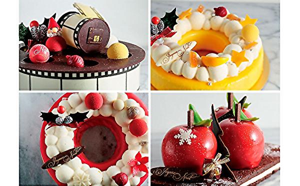 「クリスマスケーキどうしよう?」という人はチェック!セバスチャン・ブイエ、各百貨店限定ケーキはアートで個性派ぞろいなんです♩
