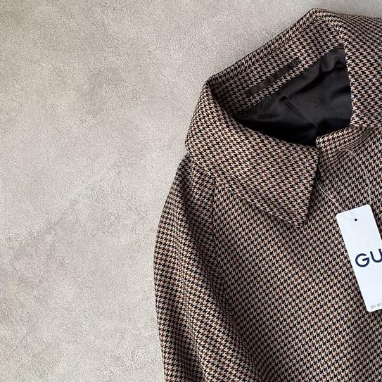 GUのメンズ商品「ガンクラブチェックコート」が今季一番の高見えコート?売り切れる前に絶対チェックして◎