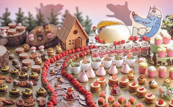 とびきりメルヘンな「赤ずきん」の世界へ!シェラトン都ホテル大阪のいちごブッフェがかわいすぎる♡