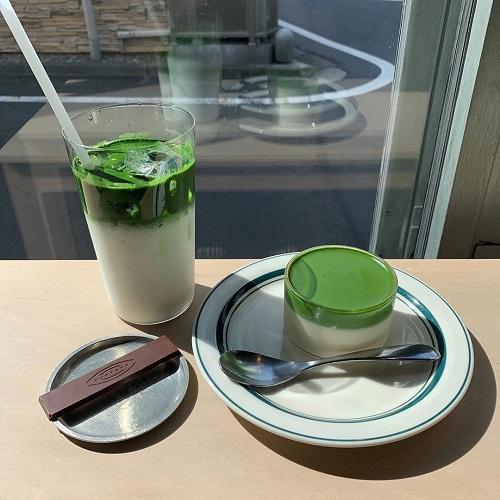 """この""""トロ生感""""は反則!口に入れた瞬間とろける濃い抹茶プリンが大人気の日本茶専門店「Saten」って知ってる?"""