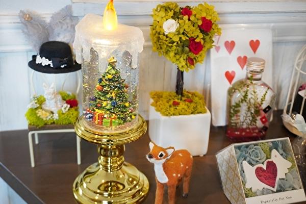 ツリーをかたどった欲ばりデザートプレートも登場♩西宮のかわいすぎるフラワーカフェがクリスマス仕様になりました♡