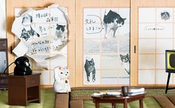 読みたかったらニャンコと一緒に障子を破って♡フェリシモ猫部のメッセージカードが遊び心ありすぎなんです♩