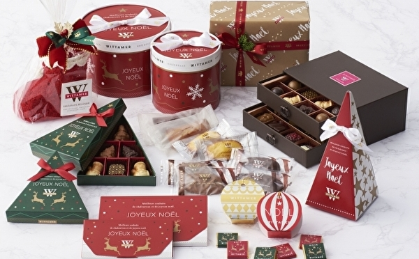 幸せを運んでくるトナカイがポイント♩ベルギー発ヴィタメールにクリスマスショコラ&限定プレートが登場!