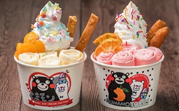 ロールアイスクリームファクトリー×くまモンがコラボ!甘酒、デコポン、熊本食材を使った限定メニューがおいしそう♩