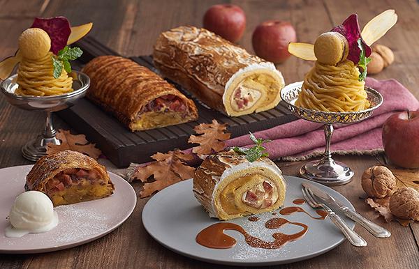 """""""焼き芋""""をイメージしたかわいいパフェも登場。「キハチ カフェ」の冬限定スイーツでほっこり甘い幸せを♡"""
