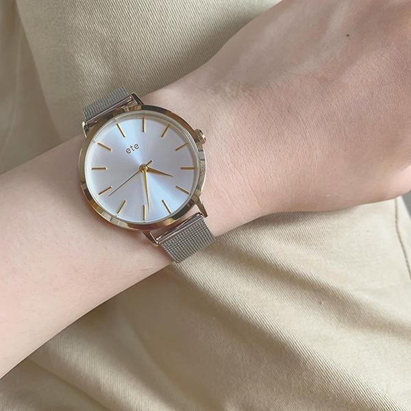 ぱっと見るたび嬉しくなっちゃう。憧れのブランド「ete」の腕時計で手元をさりげなくアップデート♡