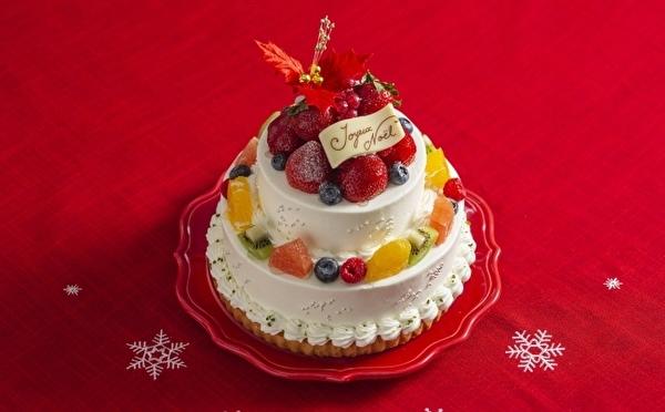 たっぷりいちご&濃厚ショコラのタルト仕立て♡ラ・メゾン アンソレイユターブルに全8種のクリスマスケーキがお目見え♩