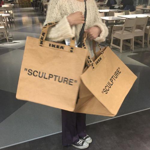 IKEAのコラボコレクションがかわいすぎると話題。大容量「ペーパーバッグ」がシンプルで使いやすいんです♡