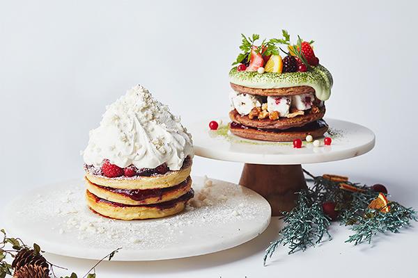 あったかorひんやりどっちにする?♡クリスマスシーズンのJ.S. PANCAKE CAFEに2種類のパンケーキが登場
