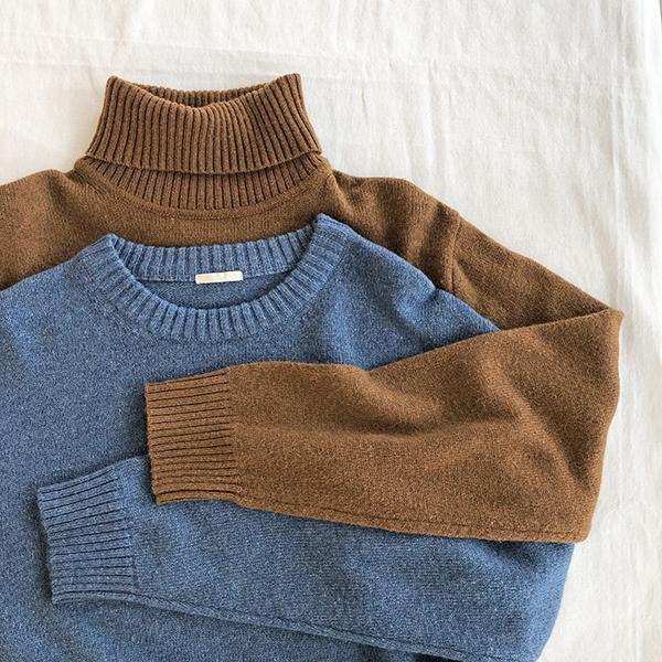 首回りがチクチクしない〜!今年も要チェックなGUメンズのセーターをピックアップ♡