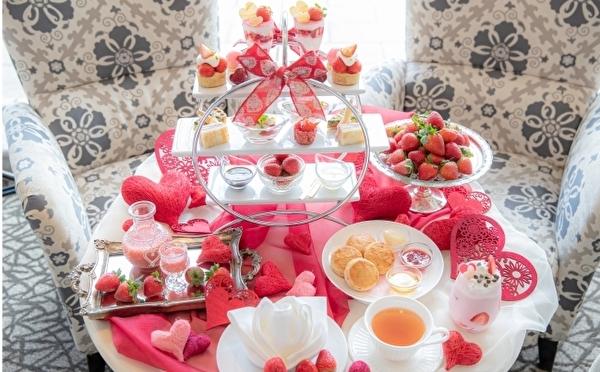 LOVE&イチゴがたっぷり♡かわいすぎるアフタヌーンティーが「ラ・スイート神戸ハーバーランド」に元日からお目見え♩