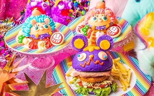 干支のねずみ×おめでたメニューもレインボー!年末年始はKAWAII MONSTER CAFE原宿のパーティーで盛り上がっちゃお♩