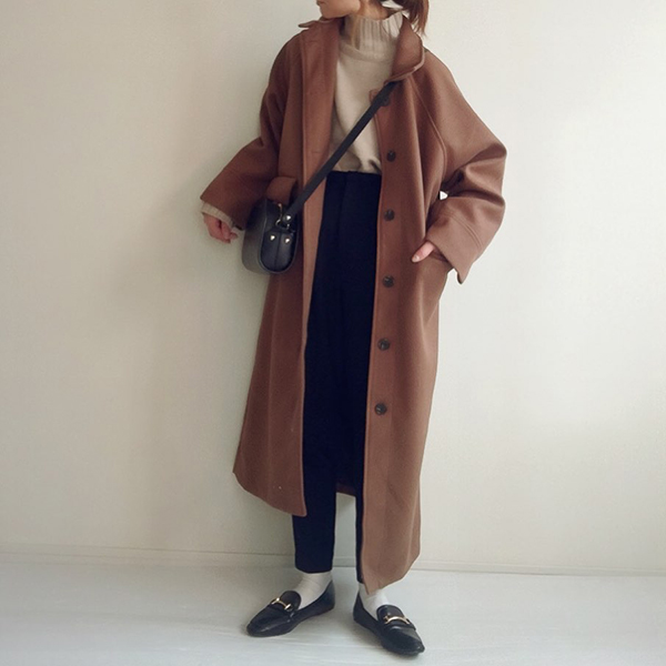 コートのマンネリ問題を解決してくれる。シルエットも着心地も抜群のロングコートを見つけちゃいました♡