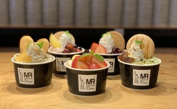 新潟限定「甘酒ミルク」がおいしそう♡マンハッタンロールアイスクリームが新潟初出店、万代シティにOPEN!