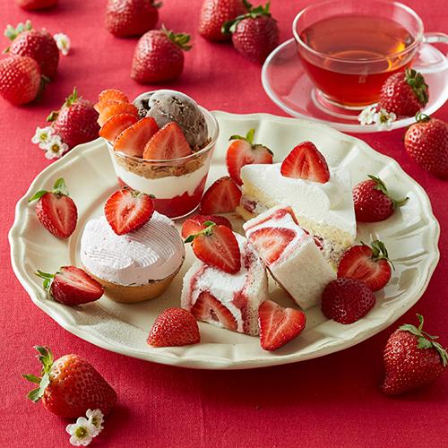 苺の量がいつもよりボリュームアップ♡「アフタヌーンティー・ティールーム」に3日限りの特別メニューが登場