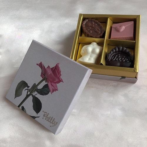 """これ、""""チョコ""""なの?かわいすぎて食べられないとの声殺到の「philly chocolate」はバレンタインに最適♡"""