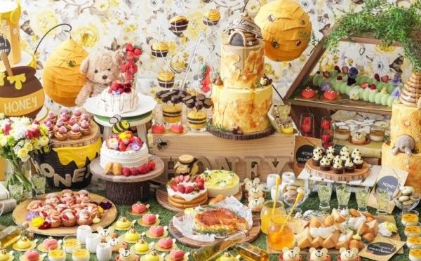 絵本のような世界観で楽しむ春のデザート♡いちご×はちみつブッフェがストリングスホテル八事で3月スタート!