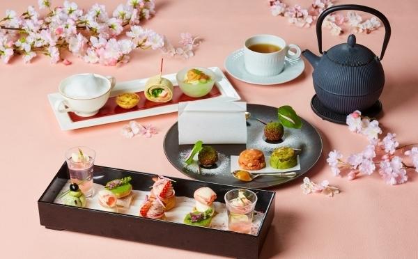 桜の花びらのようなスイーツが勢ぞろい♩インターコンチネンタル東京ベイの「O-Hanamiアフタヌーンティー」がステキなんです♡