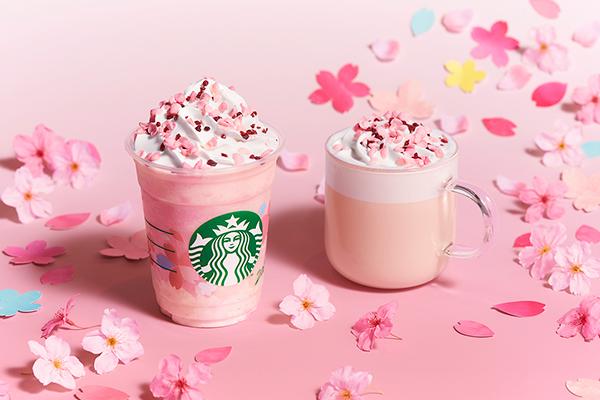 今年もスタバにさくらが満開の春が来る。第1弾は「さくら ミルクプリン フラペチーノ」&「さくら ミルク ラテ」