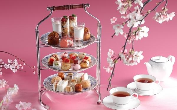真っ赤ないちごにピンクの桜テイストがプラス♡シェラトン都ホテル大阪「いちごスイーツフェア」第2弾が3月スタート!