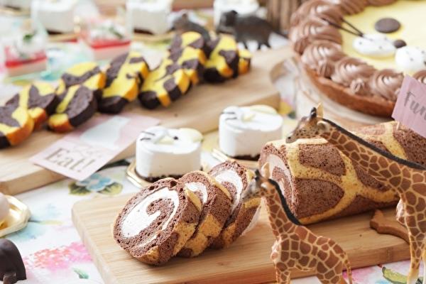 人気の動物がスイーツになって大集合!動物園の春祭りにあわせたデザートブッフェが名古屋の結婚式場にて開催♩