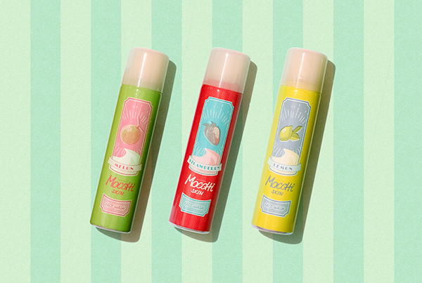 面倒な泡立てが必要なし!ポップなパッケージもかわいい「モッチスキン」から吸着泡洗顔フルーツシリーズが発売