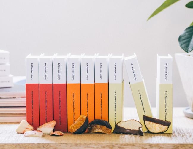 食べるだけじゃない。今年のバレンタインは「読むチョコレートChocolate Library」で心も身体も満腹に…♡