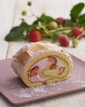 ふんわりピンクのパフェは「いちご大福」の味わいが楽しめちゃう♡キハチカフェの春色メニューが待ち遠しい♩