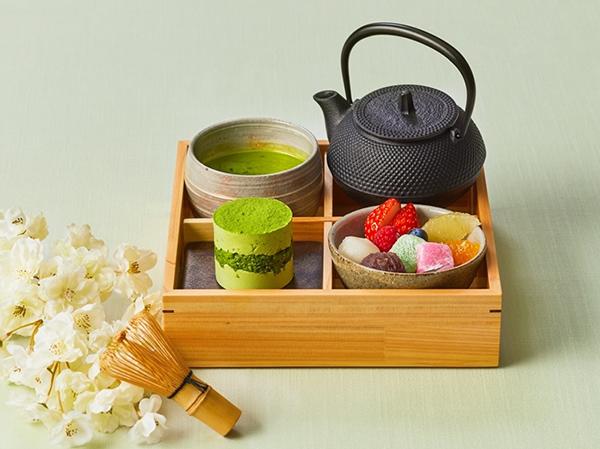 """京都宇治抹茶を点てて味わう""""プチ茶道体験""""が叶います。ザ ストリングス 表参道に『和のティーセット』が新登場"""