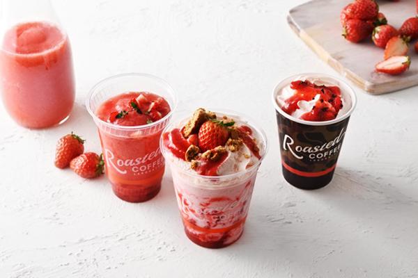 デザート感覚で楽しむシェイクも。旬のイチゴが主役のドリンクが「ローステッド コーヒー ラボラトリー」に♡