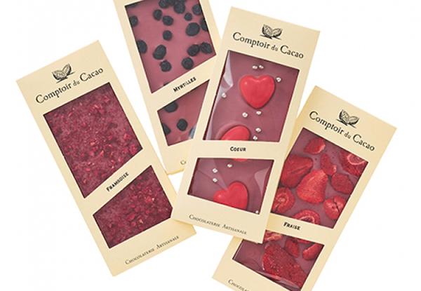 """ナチュラル派さんのための""""天然のピンク色""""。今年のバレンタインは「ルビーチョコレート」が気になります…"""
