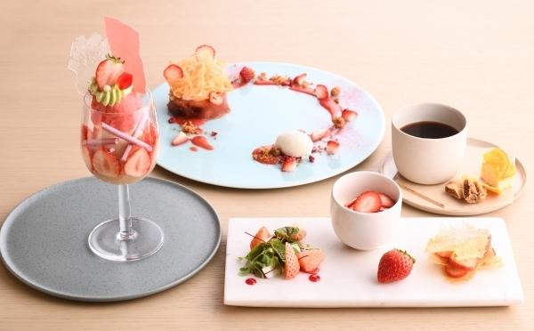 もちろん春はいちごが主役♡夢のデザートフルコースが楽しめる銀座「フルーツサロン」をチェック♩
