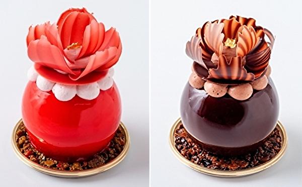 人気の「花ひらくパフェ」をケーキでお持ち帰り♡かわいすぎる春の新作がパスカル・ル・ガック東京にお目見え♩
