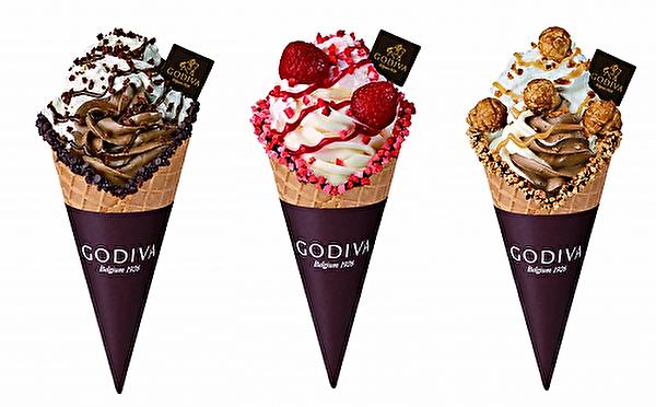 気分を盛りあげる春のご褒美スイーツ♩GODIVAの新作ソフトクリームはパフェのような贅沢仕立て♡